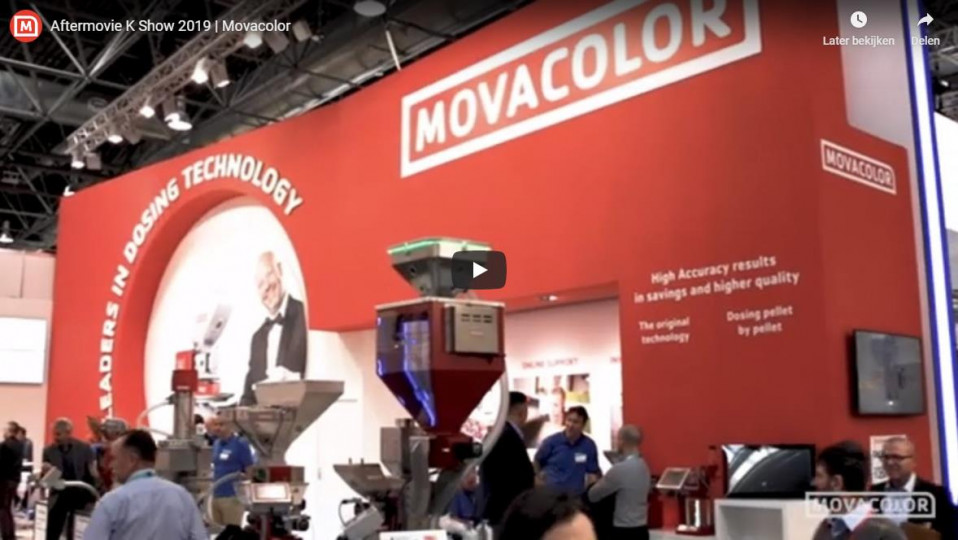 MOVACOLOR AT THE K 2019